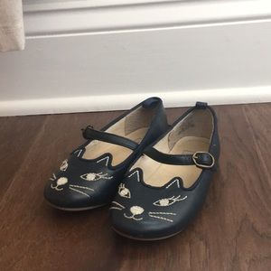 Toddler Girl Navy Gap Kitty Flats